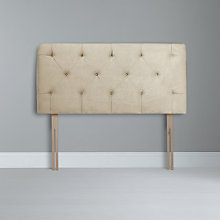Buy John Lewis Elise Headboard, Super Kingsize, Stone Online at johnlewis.com