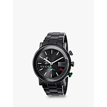Buy Gucci Men's G-Chrono Stainless Steel Chronograph Watch Online at johnlewis.com