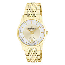 Buy Dreyfuss & Co DGB00002/03 Men's PVD Stainless Steel Watch, Gold Online at johnlewis.com