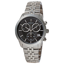 Buy Dreyfuss & Co DGB00062/04 Men's Chronograph Watch, Silver / Black Online at johnlewis.com