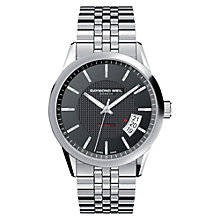 Buy Raymond Weil 2770-ST-20021 Freelancer Men's Stainless Steel Automatic Watch Online at johnlewis.com