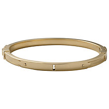 Buy Fossil Steel Lock Friendship Bangle Online at johnlewis.com