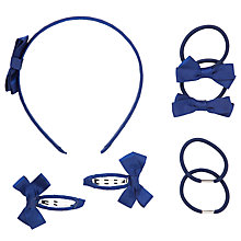 Buy John Lewis Girl Hair Accessory Set Online at johnlewis.com