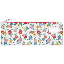 Buy Cath Kidston Daisies Long Pencil Case, White/Multi Online at johnlewis.com