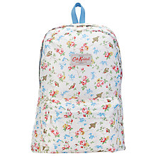 Buy Cath Kidston Bird Print Foldable Rucksack, Multi Online at johnlewis.com
