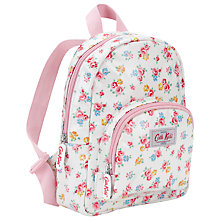 Buy Cath Kidston Freston Rose Rucksack, White/Multi Online at johnlewis.com