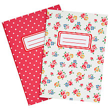 Buy Cath Kidston Freston Rose Notebook, Pack of 2, Multi Online at johnlewis.com