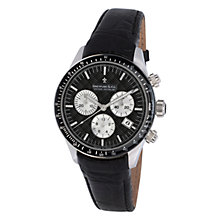 Buy Dreyfuss & Co DGS00032/04 Men's Luxury Sports Chronograph, Black Online at johnlewis.com