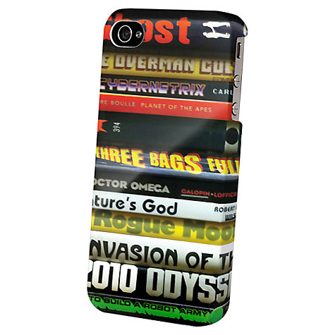 Buy Tshirt Store Dedicated Books Case for iPhone 5 & 5s Online at johnlewis.com
