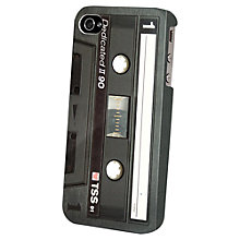 Buy Tshirt Store Dedicated Black Tape Case for iPhone 5 Online at johnlewis.com
