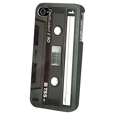 Buy Tshirt Store Dedicated Black Tape Case for iPhone 5 & 5s Online at johnlewis.com