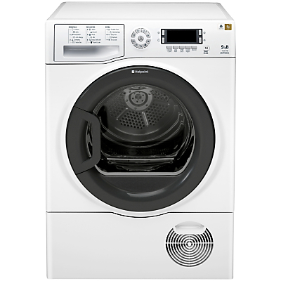Hotpoint Signature TCUD97B6PH Condenser Tumble Dryer, 9kg Load, B Energy Rating, White