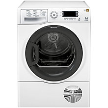Buy Hotpoint Signature TCUD97B6HM Condenser Tumble Dryer, 9kg Load, B Energy Rating, White Online at johnlewis.com