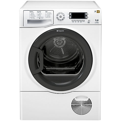 Buy Hotpoint Signature TCUD97B6PH Condenser Tumble Dryer, 9kg Load, B Energy Rating, White Online at johnlewis.com