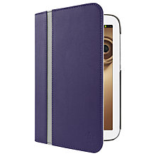 Buy Belkin Cinema Stripe Folio Case for Samsung Galaxy Note 8.0, Ink Online at johnlewis.com