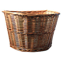 Buy M:Part Wicker Bicycle Basket Online at johnlewis.com