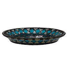 Buy John Lewis Mosaic Mirror Candle Plate Online at johnlewis.com
