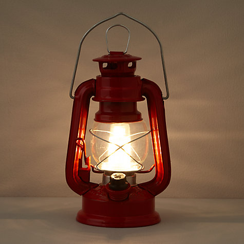 Buy Scouting LED Lantern, Red, Small Online at johnlewis.com