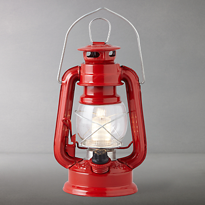 Scouting LED Lantern, Red, Small
