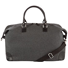 Buy John Lewis Pimlico Wool and Leather Trim Holdall Online at johnlewis.com