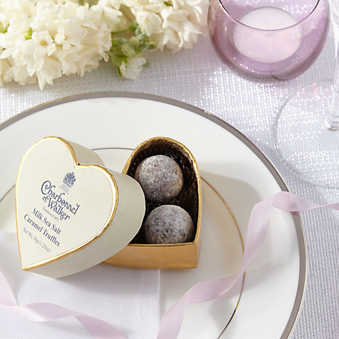 Buy Charbonnel et Walker Sea Salt Caramel Chocolate Truffles, 36g Online at johnlewis.com