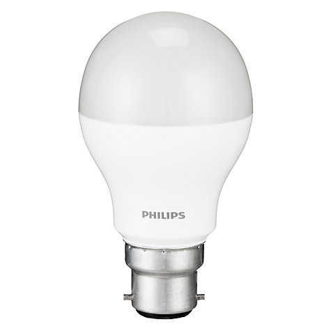 Buy Philips 9.5W BC Energy Saving LED Classic Bulb, Frosted Online at johnlewis.com