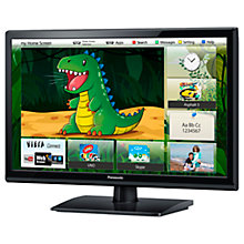 "Buy Panasonic Viera TX-L24X6B HD 1080p LED Smart TV, 24"" with Freeview HD Online at johnlewis.com"