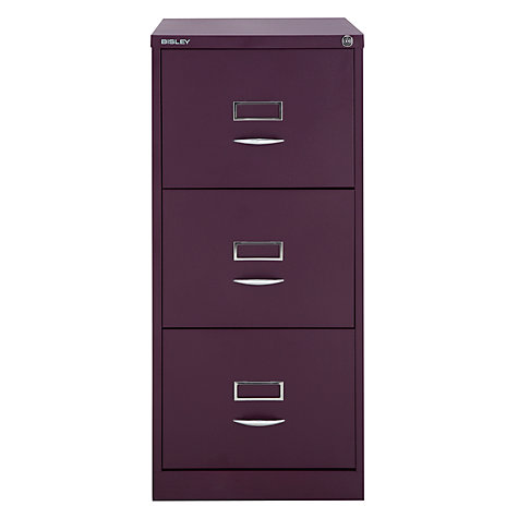 Buy Bisley 3 Drawer Filing Cabinet Online at johnlewis.com