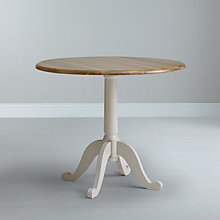 Buy John Lewis Regent 2-4 Seater Round Extending Bistro Table Online at johnlewis.com