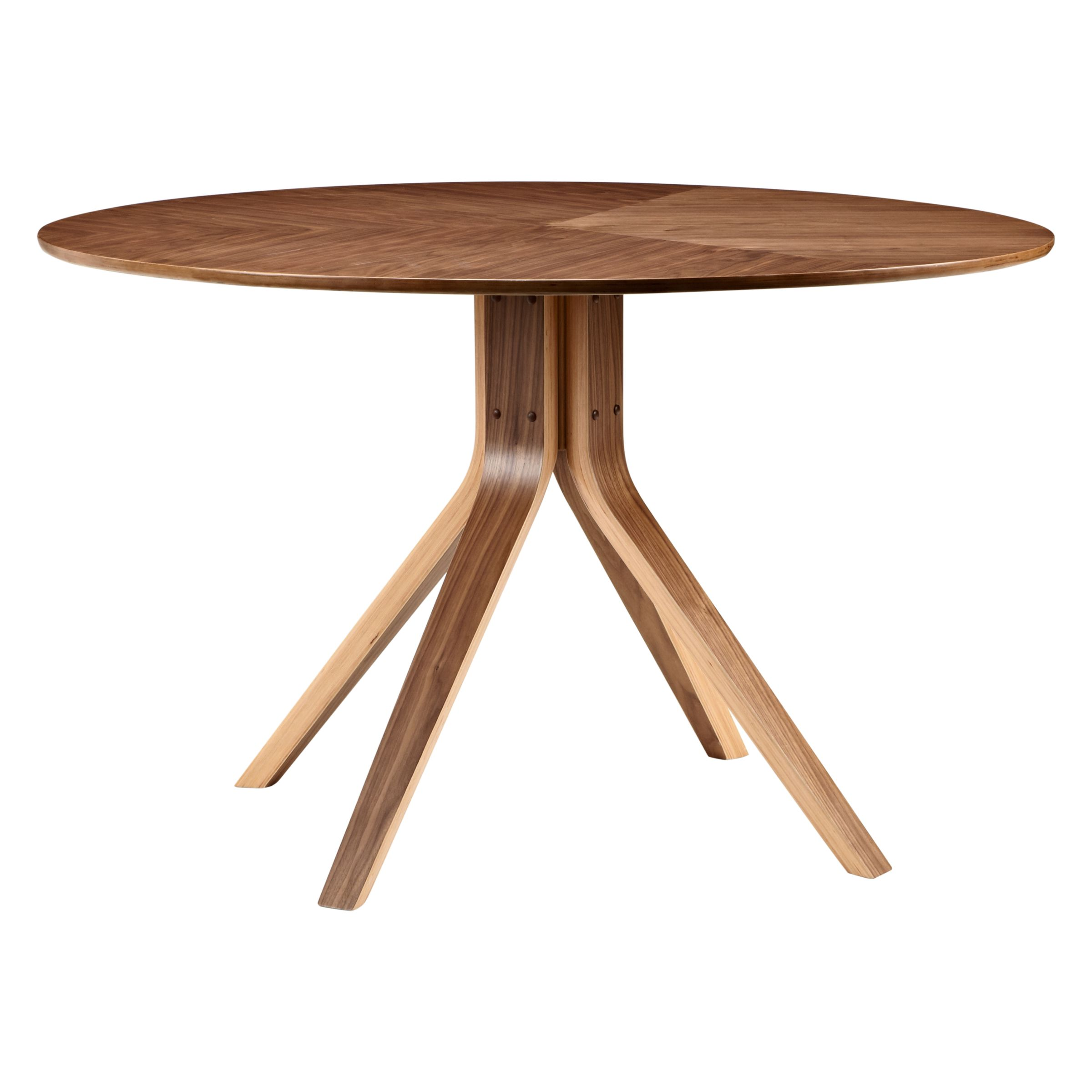 Wales & Wales for John Lewis John Lewis Radar 6 Seater Round Dining Table, Walnut