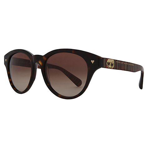 Buy Marc by Marc Jacobs MMJ253/S Keyhole Round Sunglasses Online at johnlewis.com