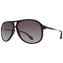 Buy Marc by Marc Jacobs MMJ239/S AI2 Aviator Sunglasses, Black Online at johnlewis.com