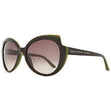 Buy Marc by Marc Jacobs MMJ262/S Cat's Eye Sunglasses, Brown Online at johnlewis.com