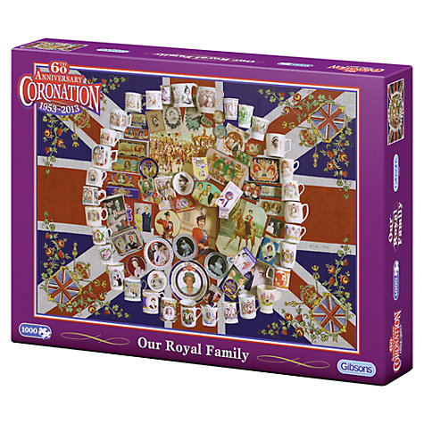 Buy Gibson & Son Our Royal Family 1000 Piece Puzzle Online at johnlewis.com