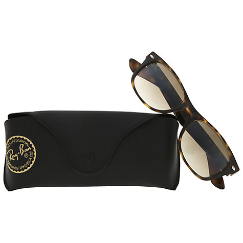 Buy Ray-Ban RB2132 Wayfarer Sunglasses, Havana Online at johnlewis.com