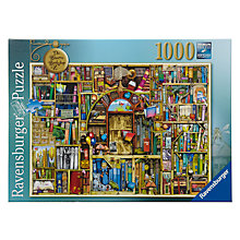 Buy Ravensburger Bizarre Bookshop 2 1000 Piece Puzzle Online at johnlewis.com