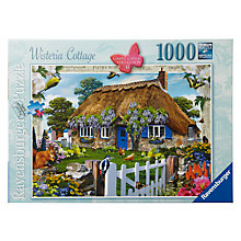 Buy Ravensburger Wisteria Cottage 1000 Piece Puzzle Online at johnlewis.com