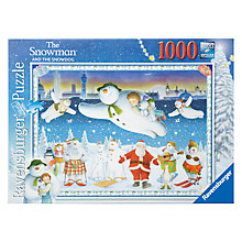 Buy Ravensburger The Snowman 1000 Piece Puzzle Online at johnlewis.com