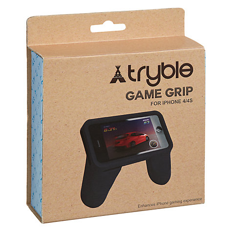 Buy Bluew iPhone 4 Game Grip Online at johnlewis.com