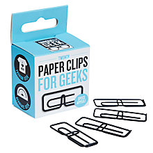 Buy Ginger Fox Geek Paper Clips, Pack of 20 Online at johnlewis.com