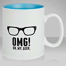 Buy Ginger Fox Geek Mug Online at johnlewis.com