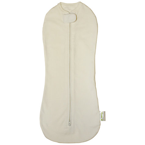 Buy Woombie Swaddle Blanket, Cream Online at johnlewis.com