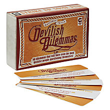 Buy Matchbox Trivia Devilish Dilemmas Online at johnlewis.com