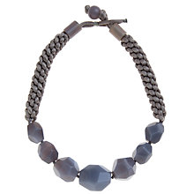 Buy Lola Rose Zoya Graduating Faceted Stone Rope Necklace Online at johnlewis.com