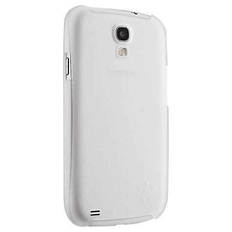 Buy Belkin Shield Sheer Matte Case for Samsung Galaxy S4 Online at johnlewis.com