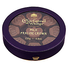Buy Charbonnel et Walker Milk Chocolate Praline Crowns, 125g Online at johnlewis.com