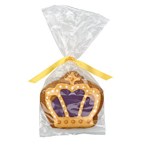 Buy Image on Food Iced Gingerbread Crown, 45g Online at johnlewis.com