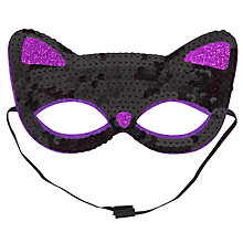 Buy John Lewis Girl Cat Mask, Black Online at johnlewis.com