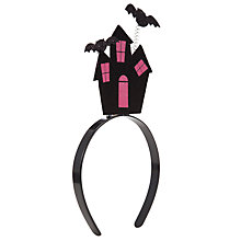 Buy John Lewis Girl Haunted House Alice Band, Multi Online at johnlewis.com