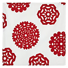 Buy House by John Lewis Snowflake Napkins, Set of 4, Red/ White Online at johnlewis.com
